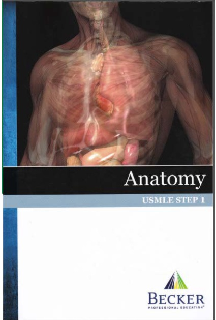 Step 1: Becker USMLE Step 1 Lecture Notes PDF Free Download [Full