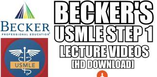 Becker USMLE Step 1 Videos Download
