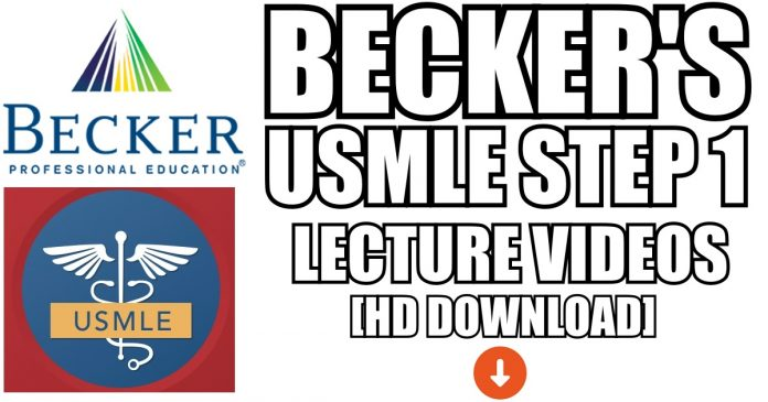 Becker USMLE Step 1 Videos Download