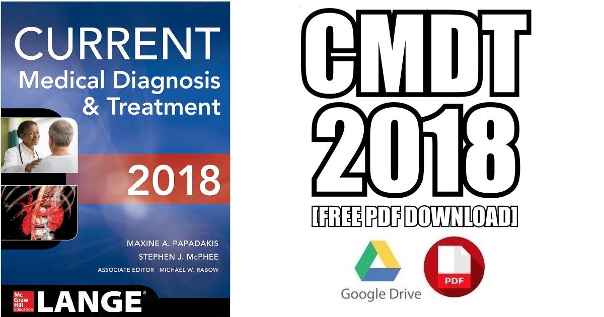 CURRENT Medical Diagnosis and Treatment 2018 PDF
