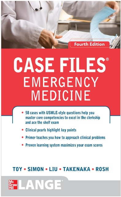 Case Files Emergency Medicine 4th Edition PDF