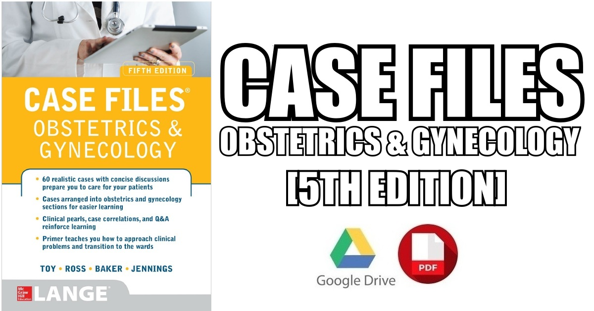 Case Files Obgyn 4th Edition Pdf