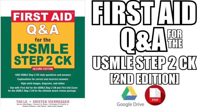 First Aid Q&A for the USMLE Step 2 CK 2nd Edition PDF