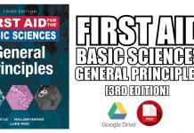 First Aid for the Basic Sciences: General Principles 3rd Edition PDF
