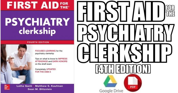 First Aid for the Psychiatry Clerkship 4th Edition PDF