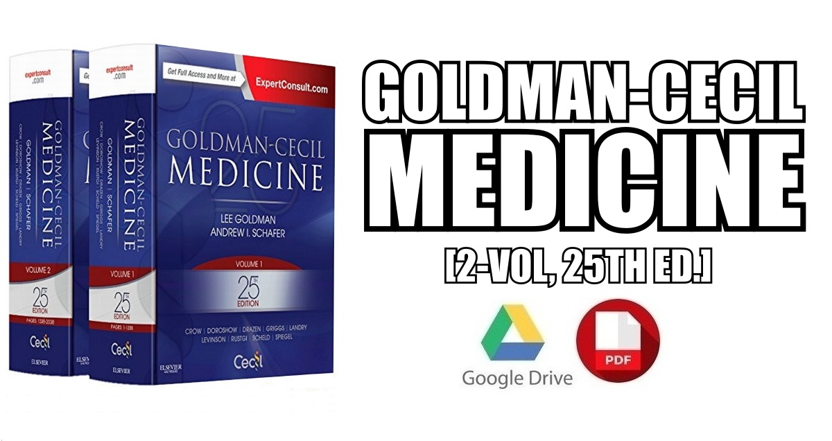 Goldman-Cecil Medicine, 2-Volume Set, 25th Edition PDF