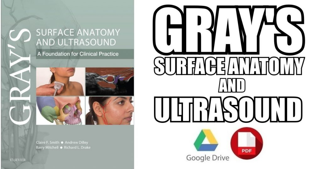 Gray's Surface Anatomy and Ultrasound 1st Edition PDF