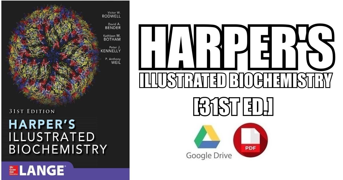 Harper's illustrated biochemistry, 31st edition | vetbooks.
