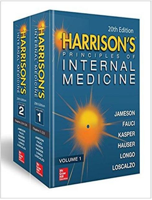 Harrison's Principles of Internal Medicine 20th Edition PDF