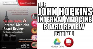 Johns Hopkins Internal Medicine Board Review 5th Edition PDF