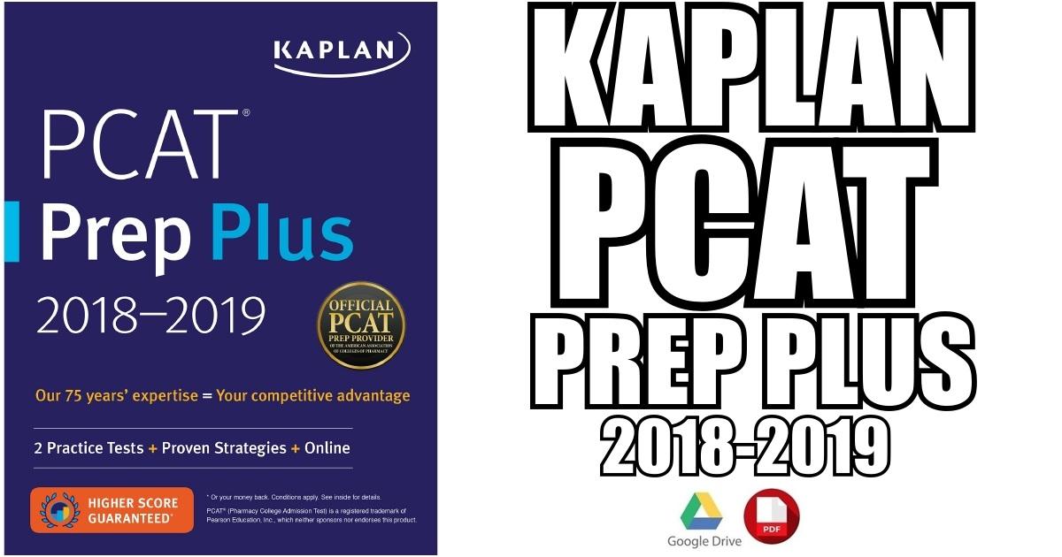 PCAT Prep Plus 2018-2019 PDF