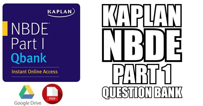 Kaplan QBank for NBDE Part 1 PDF