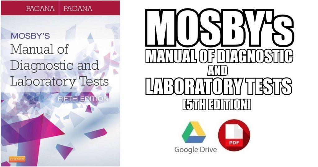Mosby's Manual of Diagnostic and Laboratory Tests PDF