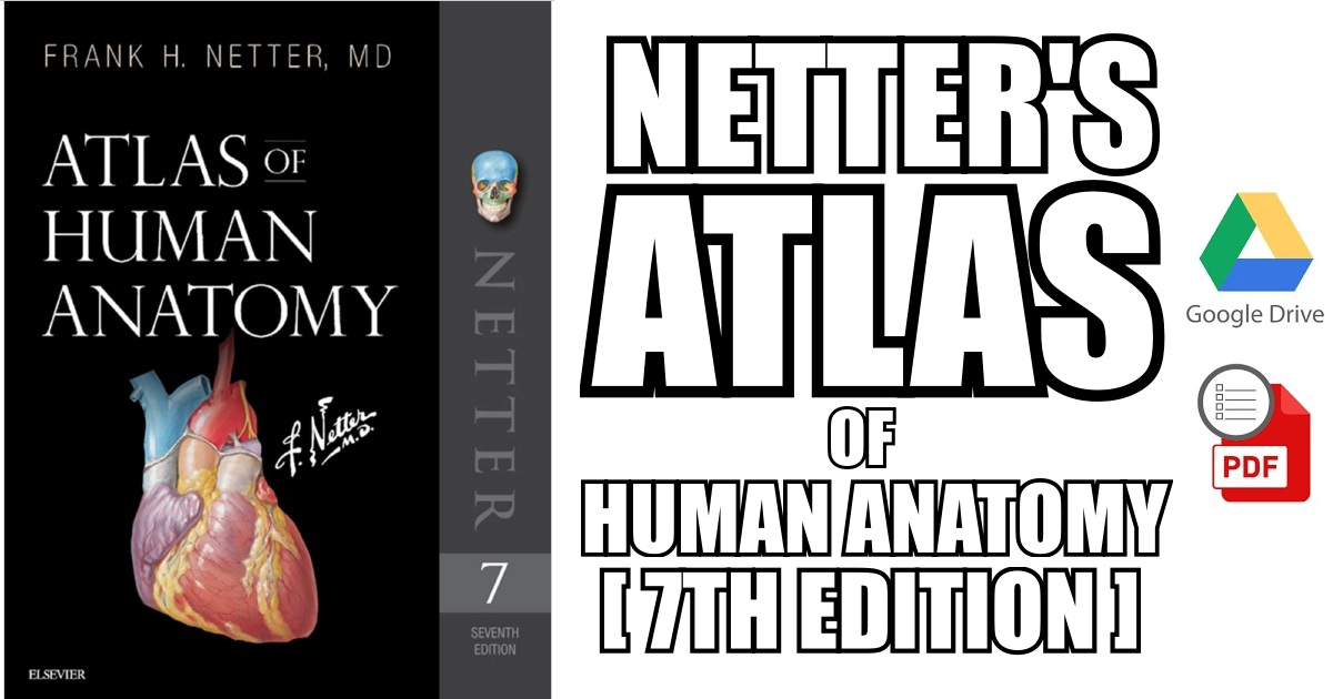Netter\'s Atlas of Human Anatomy 7th Edition PDF Free Download