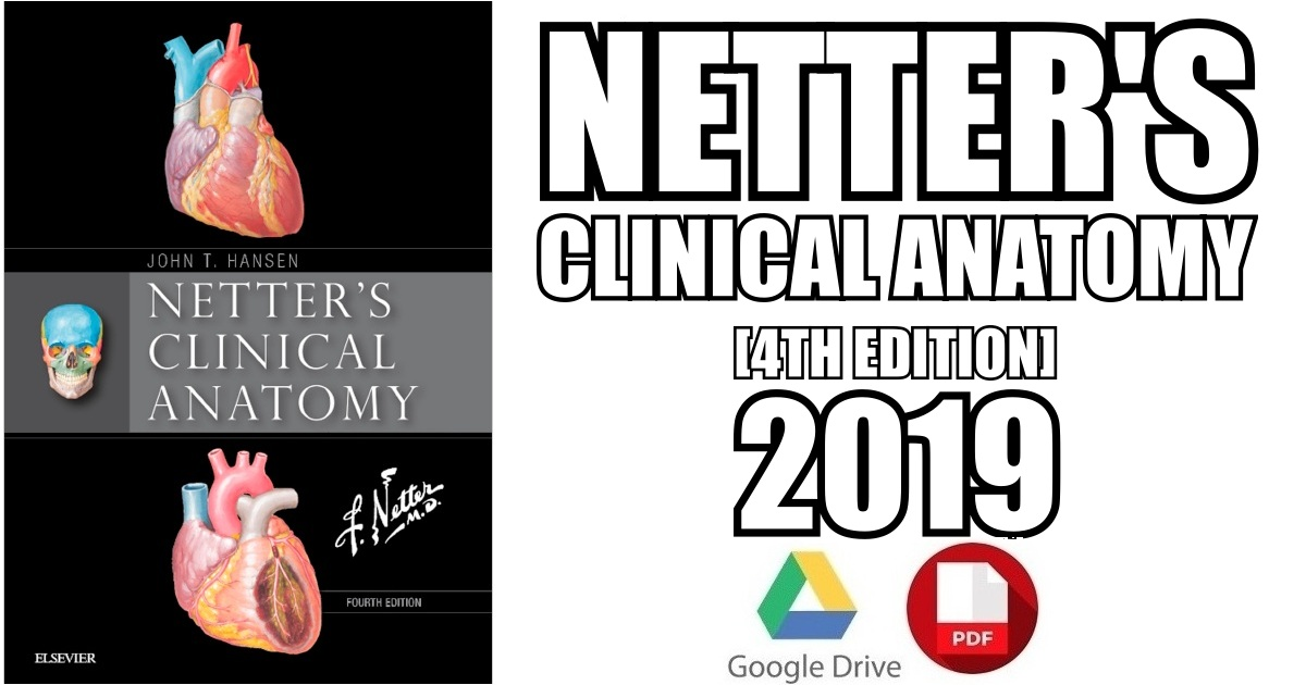 Netter\'s Clinical Anatomy 4th Edition PDF Free Download [Direct Link]