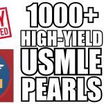 USMLE Pearls PDF