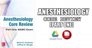 Anesthesiology Core Review 1st Edition PDF