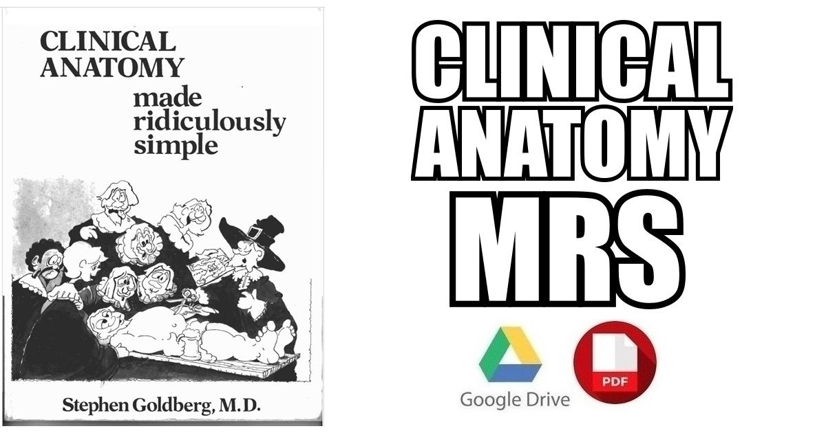 Clinical Anatomy Made Ridiculously Simple 4th Edition Pdf Free Download