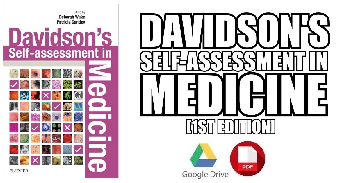 Davidson's Self-Assessment in Medicine 1st Edition PDF Free