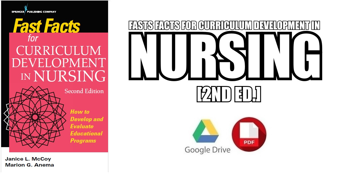 Fast Facts for Curriculum Development in Nursing 2nd Edition PDF