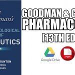 Goodman and Gilman 14th Edition PDF