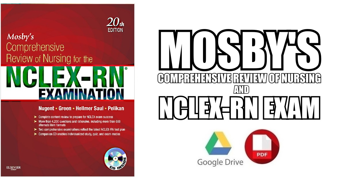 Mosby S Comprehensive Review Of Nursing For The NCLEX RN