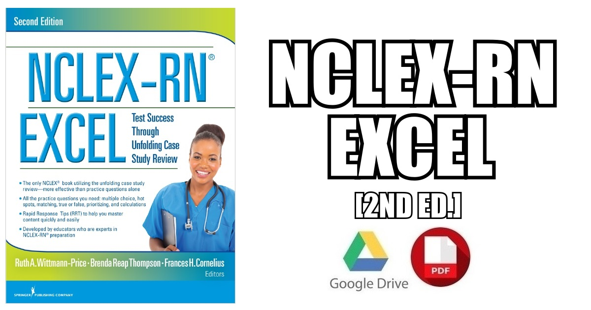 NCLEX-RN EXCEL 2nd Edition PDF