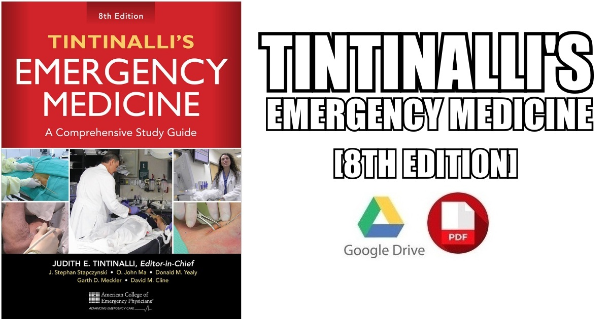 Tintinalli's Emergency Medicine 8th Edition PDF