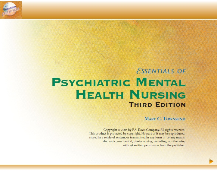 Essentials Of Psychiatric Mental Health Nursing 3rd Edition