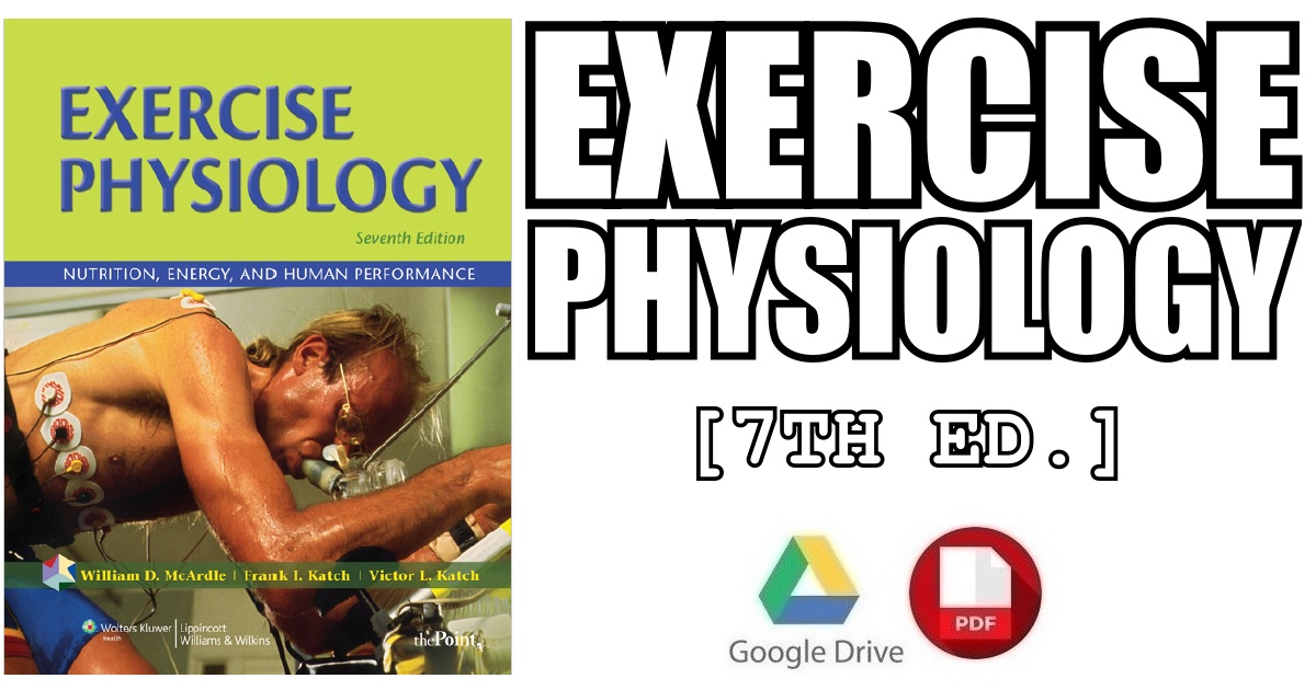 Exercise Physiology 7th Edition Pdf Free Download Direct Link