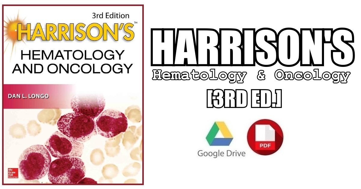 Harrison's Hematology and Oncology 3rd Edition PDF Free