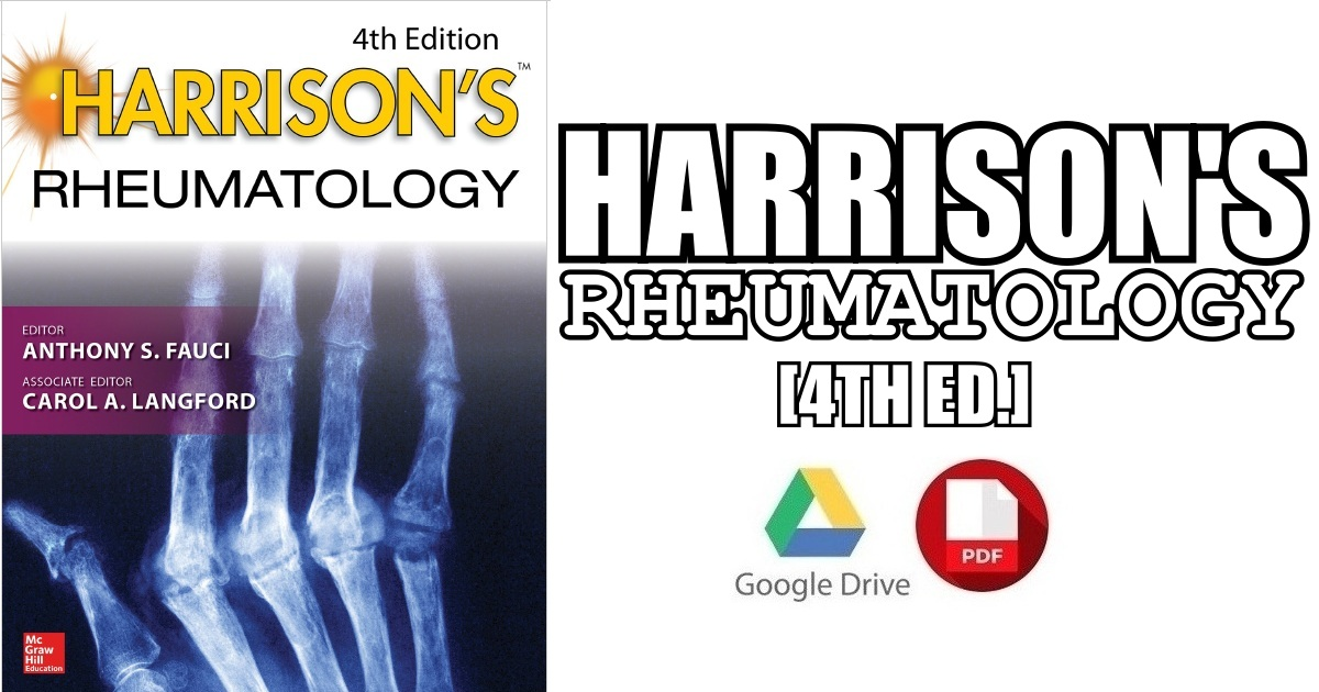 Harrison's Rheumatology 4th Edition PDF