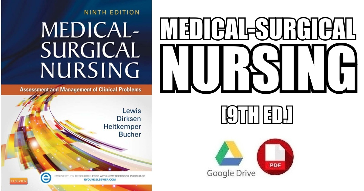 Medical-Surgical Nursing 9th Edition PDF
