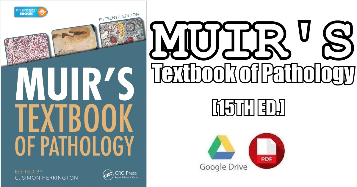 Muir's Textbook of Pathology 15th Edition PDF Free Download