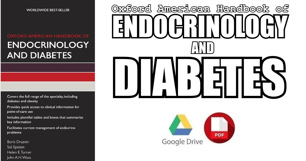 Oxford American Handbook of Endocrinology and Diabetes PDF