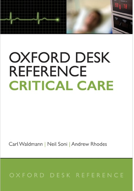 Oxford Desk Reference: Critical Care PDF
