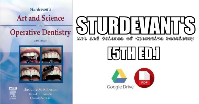 Sturdevant's Art and Science of Operative Dentistry 5th Edition PDF