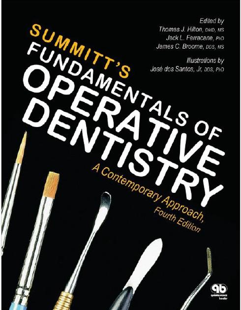 Summitt's Fundamentals of Operative Dentistry 4th Edition PDF