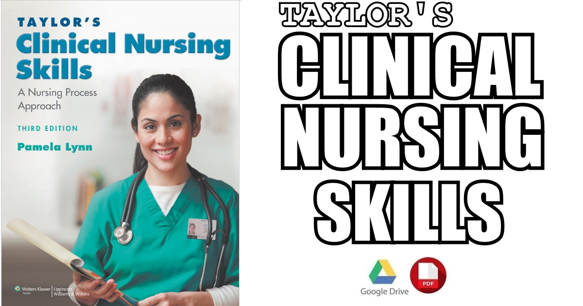 Taylors Clinical Nursing Skills 3rd Edition PDF