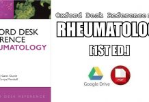Oxford Desk Reference: Rheumatology PDF