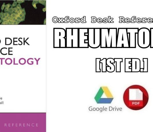 Oxford Desk Reference: Rheumatology PDF