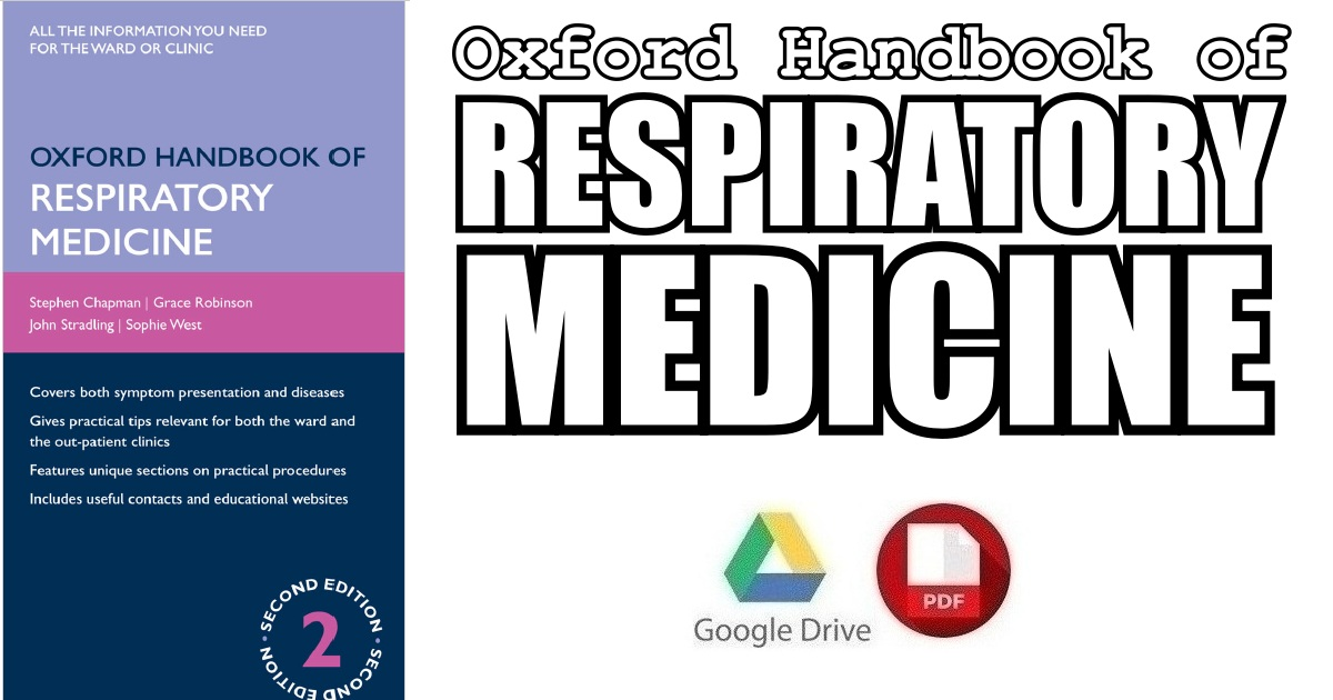 Oxford Handbook Of Respiratory Medicine 2nd Edition PDF