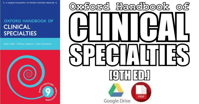 Oxford Handbook of Clinical Specialties 9th Edition PDF