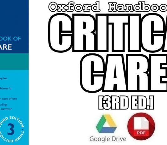 Oxford Handbook of Critical Care 3rd Edition PDF