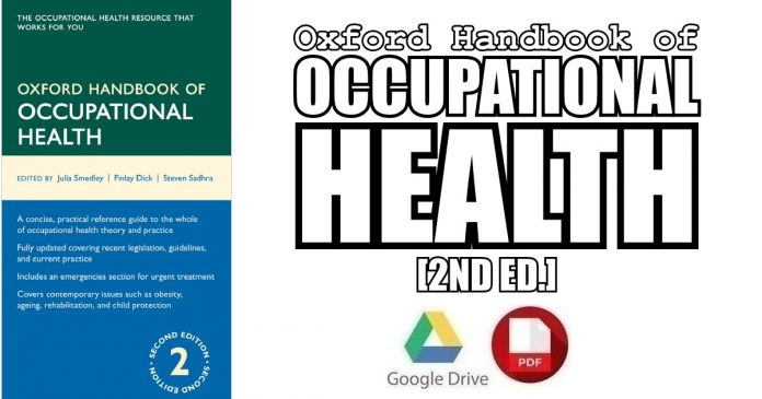 Oxford Handbook of Occupational Health 2nd Edition PDF