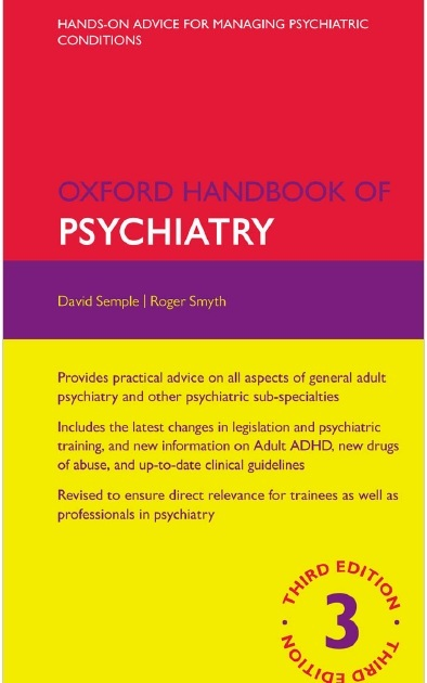 Oxford Handbook of Psychiatry 3rd Edition PDF