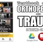 Textbook of Orthopedics and Trauma (4 Volumes) 3rd Edition PDF