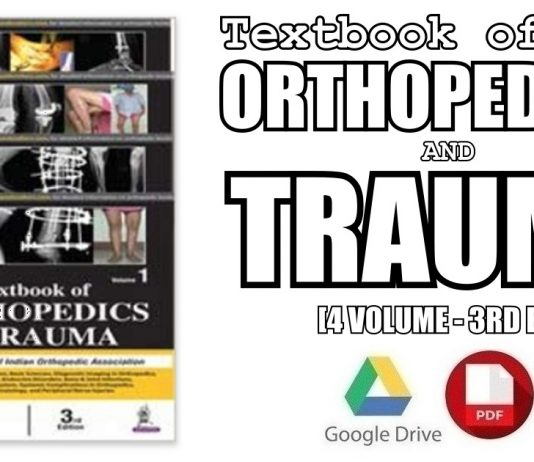 Textbook of Orthopedics and Trauma (4 Volumes) 3rd Edition PDF