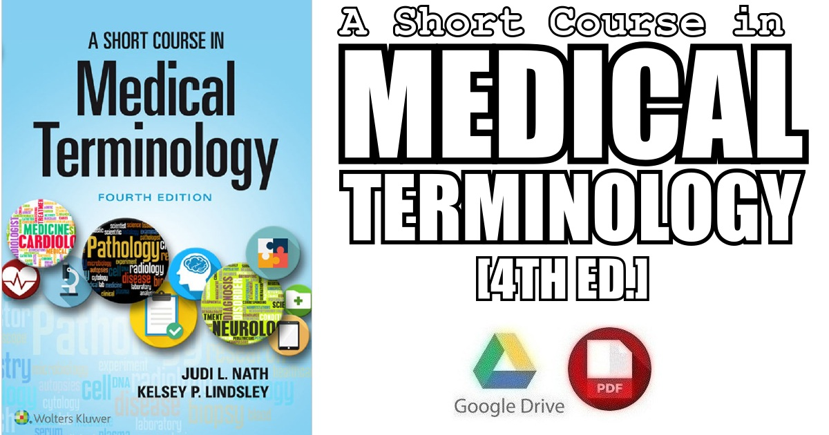 A Short Course in Medical Terminology 4th Edition PDF Free Download