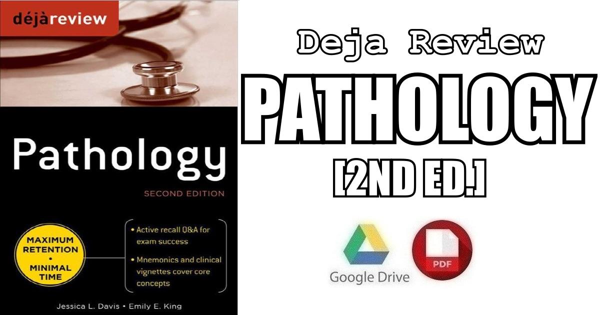 Deja Review Pathology 2nd Edition PDF